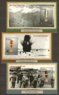 St Vincent Grenadines 2002 Mi Blocks 594-596 MNH WORLD WAR 2 - WW2