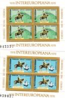 Rumänien, 1978, 3514/15  Block 151/52,  MNH **,   INTEREUROPA. - Hojas Bloque