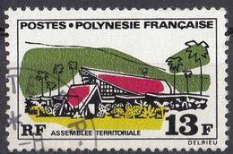POLYNESIE Française - 1970 - Yvert 72 Usato. - Usati