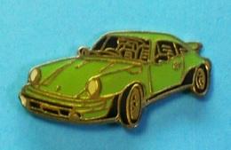 1 PIN'S  //  ** PORSCHE 911 / 3.2L CARRERA / TURBO ** - Porsche