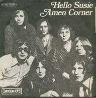 Amen Corner 45t Hello Susie VG++ EX - Disco, Pop