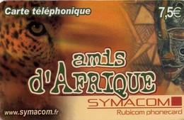 TARJETA TELEFONICA DE FRANCIA (PREPAGO). Amis D'Afrique (Type 1). FR-SYM-AFR-0001. (707) - Tarjetas Telefónicas