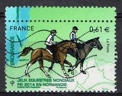 France, FEI World Equestrian Games, Normandy, Endurance Riding, 2014, VFU - France