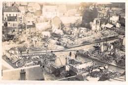 * Carte Photo / Real Photo ** VERNON : En Juin 1940 - Une Vue De La Ville Dévastée (1/2) - Format CPA - Eure - Vernon