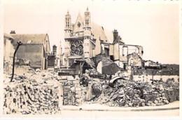 ** Carte Photo / Real Photo ** VERNON : En Juin 1940 - Une Vue De La Ville Dévastée (2/2) - Format CPA - Eure - Vernon