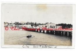 MEXIQUE LA PAZ BASSE CALIFORNIE 1923 - QUAI D EMBARQUEMENT - BAL GOUVERNEUR - PHOTO 15 X 9 CM - Mexico