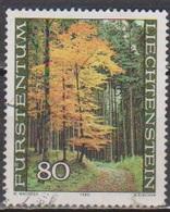 Lichtenstein 1980 MiNr. 759 O Gest. Der Wald In Den Jahreszeiten ( 2709 ) Günstige Versandkosten - Liechtenstein
