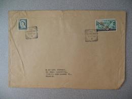 Nouvelle-Zélande Eureka  1967 Lettre  Pour La France - New Zealand Cover Timbre Queen Reine Télégraphe - Nouvelle-Zélande