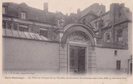 PARIS - Hôtel Du Marquis De La Vieuville - 4 Rue Saint-Paul - Francia