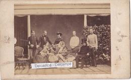 Famille Impériale HABSBOURG  Années 1860 - Rare Photo Originale CDV Par Le Photographe Henry Alexis TOURNIER( Autriche ) - Foto