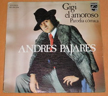 Andres Pajares 45t Gigi El Amoroso VG+ VG++ - Vinyl-Schallplatten