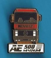 1 PIN'S  //  ** TRUCK / RENAULT AE 500 / MAGNUM ** . (Arthus Bertrand Paris) - Arthus Bertrand