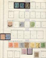 13550 QUEENSLAND Collection Vendue Par Page N° 31/2,41a,42,44,51/1a,52/4,53/4a,55/6  °  1869-83   B/TB - Timbres