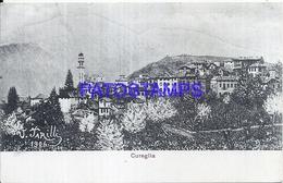 114899 SWITZERLAND CUREGLIA ART VIEW PARTIAL POSTAL POSTCARD - Sin Clasificación