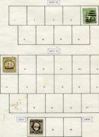 13546 Madère Collection Vendue Par Page N° 10, 15, 31 (*)/ °  1868-80   B - Madère