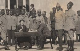 Menton 1917 Guerre 1914-1918 Hopital Complementaire N°65 Militaire Photo - Hop. Temporaire Tirailleur Sénégalais - Guerre, Militaire