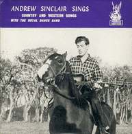 Andrew Sinclair  45t Plays On 33 Rpm Sings Country  & Western Songs With The Royal Dance Bond (phonix EX M - Country & Folk