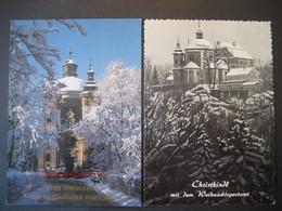 Österreich- Christkindl Karte Mit Wallfahrtskirche - Steyr