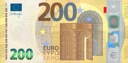EURO FRANCE 200 U002 UA*01 UNC DRAGHI - 200 Euro