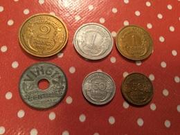 Lot De  6. Pièces Voir Le Scan - Munten & Bankbiljetten