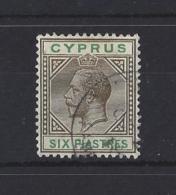 CYPRUS..KING GEORGE V.(1910-36)...6pi.....SG80...CDS...USED. - Cyprus (...-1960)