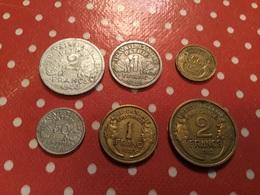 Lot De  6. Pièces Voir Le Scan - Monedas & Billetes