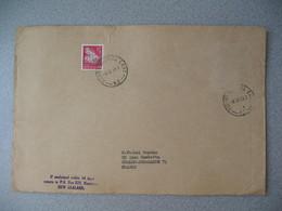 Nouvelle-Zélande Mount Roskill East 1969  Lettre pour La France - New Zealand Cover Timbre Fleur - Nouvelle-Zélande