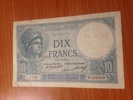 10 F  MINERVE 1926 ( Port Offert ) - 1871-1952 Antichi Franchi Circolanti Nel XX Secolo