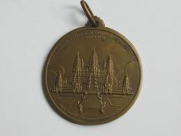 Médaille L'Indochine à L'exposition Coloniale Internationale Paris 1931  - Pierre Pasquier   **** EN ACHAT IMMEDIAT *** - Professionals / Firms