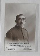 CAMP DE HAMELS-MERKSEM: FOTOKAART-OORLOG 1914-18-KRIJGSGEVANGEN-JEAN VAN WEERT -W83439-SOLDAAT - War 1914-18