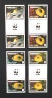 Penrhyn - Cook Islands 2017; WWF Animals & Fauna, Marine Life; Butterfly Fish; MNH, Neuf**, Postfrisch; - Penrhyn