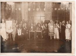 Menton 1934 Gde Photo Fete Du Citron ? Comité Des Fêtes - Guerre, Militaire