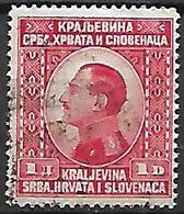 YOUGOSLAVIE   -    1924.   Y&T N° 160 Oblitéré. - Oblitérés