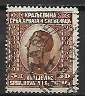 YOUGOSLAVIE   -    1924.   Y&T N° 163 Oblitéré. - Oblitérés