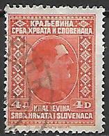 YOUGOSLAVIE   -    1926.   Y&T N° 175 Oblitéré. - Oblitérés