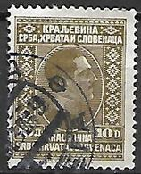 YOUGOSLAVIE   -    1926.   Y&T N° 178 Oblitéré. - Oblitérés