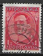 YOUGOSLAVIE   -    1931.   Y&T N° 213A Oblitéré. - 1931-1941 Royaume De Yougoslavie