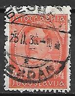 YOUGOSLAVIE   -    1931.   Y&T N° 216A Oblitéré. - 1931-1941 Royaume De Yougoslavie