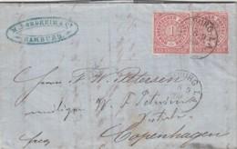 AD Nord Deutscher Postbezirk Brief 1868 - North German Conf.