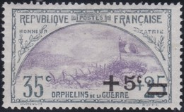 France  .   Yvert    .   166      .     *    .   Neuf Avec Charniere     .   /   .   Mint-hinged - Unused Stamps