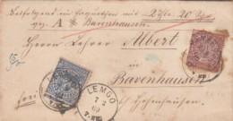 AD Nord Deutscher Postbezirk Brief 1869 - North German Conf.