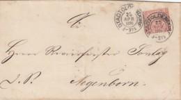AD Nord Deutscher Postbezirk Brief 1870 - North German Conf.