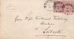 AD Nord Deutscher Postbezirk Brief 1871 - North German Conf.