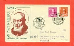 SANTI - SPAGNA  - 1960 - SAN JUAN D RIBERA - FDC