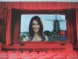 Netherlands Hologram, 3d, Film, Molen  Very Nice Stamp NVPH Nr 2769 - Ohne Zuordnung