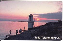 SWEDEN(chip) - Mollosund Lighthouse, CN : C47145489, 05/94, Used - Sweden