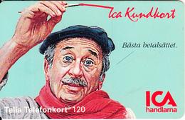 SWEDEN(chip) - ICA Member Card, CN : C45145065, 04/94, Used - Sweden