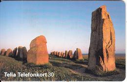 SWEDEN(chip) - Ale Stones, 11/95, Used - Landscapes