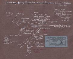 Balluchullis Ferry 1953 Ticket Fort William Scottish Map Ephemera - Tourism Brochures