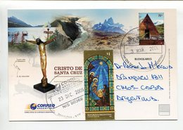 ARGENTINA - CRISTO DE SANTA CRUZ, CHRIST. ENTERO ENTIER CIRCULE 2009 FDC - LILHU - Vacaciones & Turismo